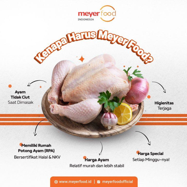 kualitas ayam meyer food